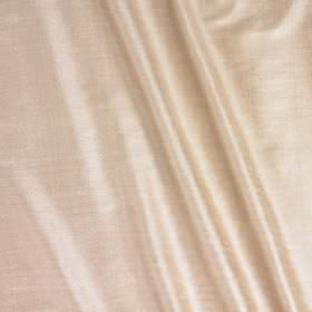 Vienne Silk - Rosewater - Light beige and white colours blended together into a luxurious, elegant silk and viscose blend fabric