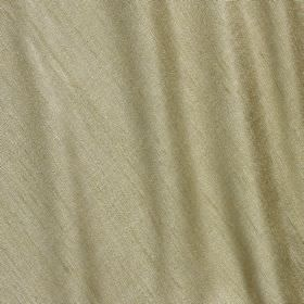 Vienne Silk - Olive - Fabric made from a glamorous pewter coloured blend of silk and viscose