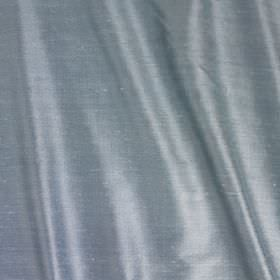 Vienne Silk - Swedish Blue - Silk and viscose blend fabric made in elegant light powder blue-grey