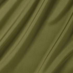 Connaught Silk - Samphire - Silk and wool blended together into leaf green coloured fabric