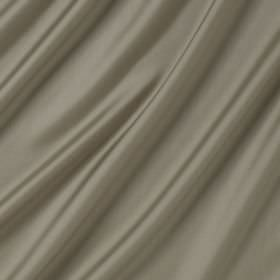 Connaught Silk - Mineral - Cream and grey blend silk and wool fabric