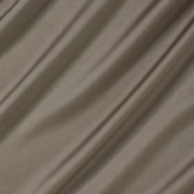 Connaught Silk - Mushroom - Fabric made from grey silk and wool with a slight hint of brown