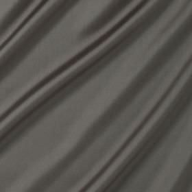 Connaught Silk - Lakestone - Folds of slightly shiny battleship grey coloured silk and wool blend fabric