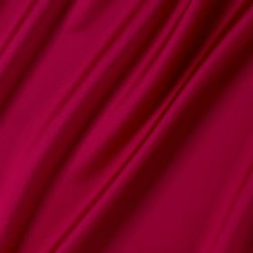 Connaught Silk - Carmine - Bright cerise coloured fabric made from a mixture of silk and wool