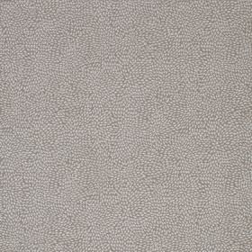 Corolla - Fossil - Tiny pale grey dots scattered over a background of viscose, cotton and polyester blend fabric in a slightly darker shade