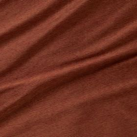 Diffusion Silk - Pomegranate - Fabric made from 100% silk in a fiery brick red colour