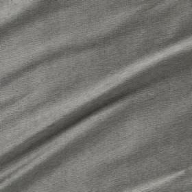 Diffusion Silk - Mercury - Light grey coloured fabric made from 100% silk
