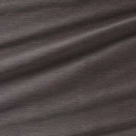 Diffusion Silk - Fritillary - Plain dark brown-grey coloured 100% silk fabric