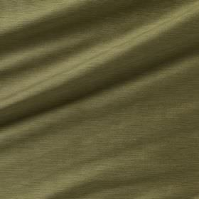 Diffusion Silk - Grasshopper - Plain 100% silk fabric made in Army green
