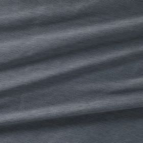 Diffusion Silk - Meltwater - Denim blue-grey coloured fabric made entirely from silk