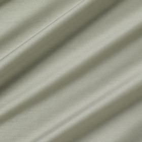 Astor - Chateau - Plain 100% polyester fabric made in pale grey-white