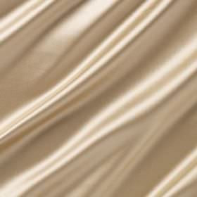 Reflection - Sunbeam - Warm cream coloured cotton and polyester blend fabric finished with a luxurious sheen