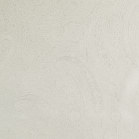 Palmyra Sheer - Ivory - Very subtly patterned oyster coloured fabric made from 100% silk