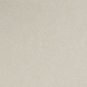 Palmyra Silk - Pumice - Ivory coloured fabric made from silk and wool with a very subtle pattern