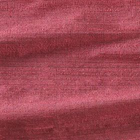 Handwoven Silk - Coral - Plain dusky red coloured fabric made from nothing but silk
