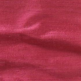 Handwoven Silk - Rose - Strawberry coloured fabric made from 100% silk