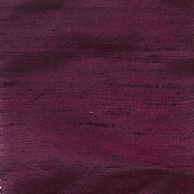 Handwoven Silk - Rose Black - Fabric woven from dark purple and black threads made from 100% silk