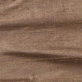 Handwoven Silk - Fudge - 100% silk fabric made in a plain shade the colour of cocoa beans