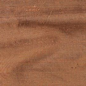 Handwoven Silk - Sahara - 100% silk fabric woven from dusky orange threads which have a slight light grey tinge