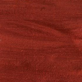 Handwoven Silk - Poinsettia - Fabric made from plain 100% silk in a rich terracotta colour