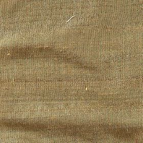Handwoven Silk - Inca Gold - Plain woven Army green coloured 100% silk fabric