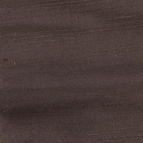 Handwoven Silk - Nutmeg - Plain dark cocoa coloured fabric made from 100% silk