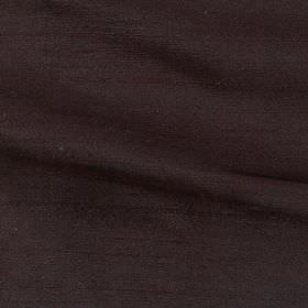Handwoven Silk - Mocha - 100% silk fabric made in such a dark shade of brown that it almost appears black