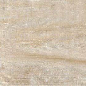 Handwoven Silk - Pale Yellow - Copper-cream coloured fabric made entirely from silk with slightly patchy colouring