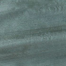 Handwoven Silk - Mermaid - 100% silk fabric woven from duck egg blue and light grey coloured threads