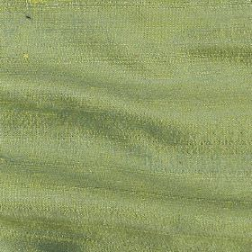 Handwoven Silk - Shamrock - Bright apple green coloured fabric made entirely from silk