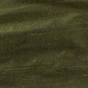 Handwoven Silk - Forest Green - Fabric made entirely from silk in a deep, mysterious forest green colour