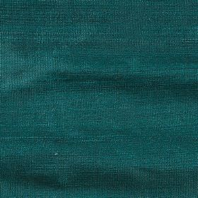 Handwoven Silk - Emerald Green - Dark emerald green coloured fabric made from 100% silk