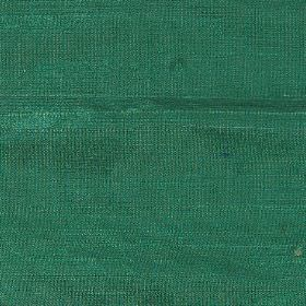Handwoven Silk - Leaf Green - Plain fabric made from bright emeral green coloured silk