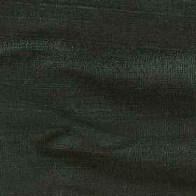 Handwoven Silk - Laurel - 100% silk fabric made in a very dark shade of forest green