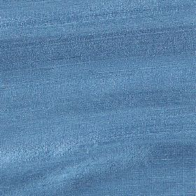 Handwoven Silk - Cobalt Blue - Bright cobalt blue coloured 100% silk fabric