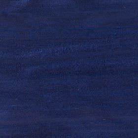 Handwoven Silk - Lobelia - Very dark blue coloured fabric made from 100% silk with no pattern