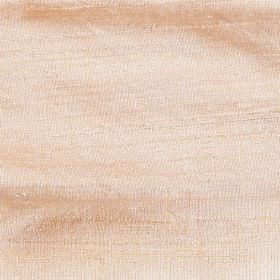 Handwoven Silk - Apricot - 100% silk fabric made in a pale apricot colour which has slightly uneven colouring