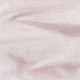 Handwoven Silk - Shimmer Pink - Candyfloss coloured fabric made entirely from silk with no pattern