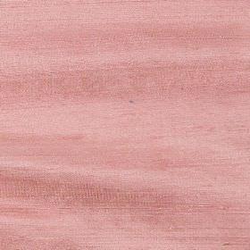 Handwoven Silk - Salmon Rose - Flamingo pink coloured fabric mad entirely from silk