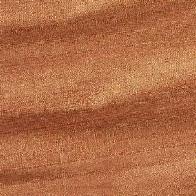 Handwoven Silk - Desert Mist - Fabric made in a bright clementine orange colour from 100% silk