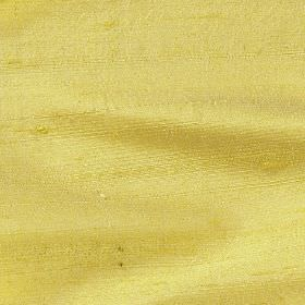 Handwoven Silk - Sunflower - Lemon yellow coloured 100% silk fabric made in a very bright shade