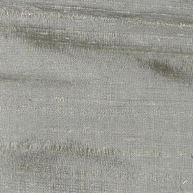 Handwoven Silk - Sage - Fabric made entirely from light grey silk with some slightly thicker horizontal threads