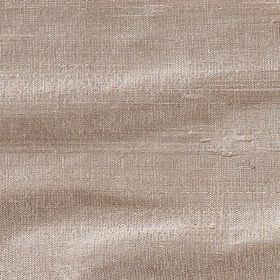 Handwoven Silk - Mink - Light brown coloured 100% silk fabric made with a very subtle tinge of pink