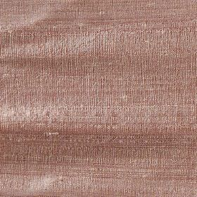 Handwoven Silk - Dusk - 100% silk fabric made in salmon pink with a slight light grey hint
