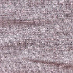 Handwoven Silk - Grape - 100% silk fabric woven from threads in light shades of grey and lavender