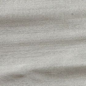 Handwoven Silk - Crest - Plain light grey coloured fabric made entirely from silk