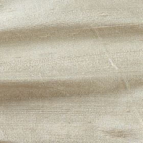 Handwoven Silk - Sesame - Cream coloured 100% silk fabric made with no pattern