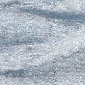 Handwoven Silk - Flint - Pale baby blue coloured 100% silk fabric
