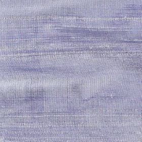 Handwoven Silk - Moonlight - 100% silk fabric woven from lilac and white threads with some being thicker than the others