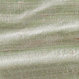 Handwoven Silk - Pink Green - Icy green coloured fabric made entirely from silk